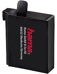 Hama Li-Ion-Akku für GoPro Hero 4 (1100 mAh, 3,8 V, 4,2 Wh) schwarz