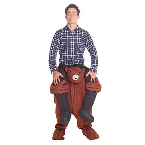Morph MCPBT - Teddy Huckepack Kostüm - Uni Größe (Aliens Kostüm Für Verkauf)