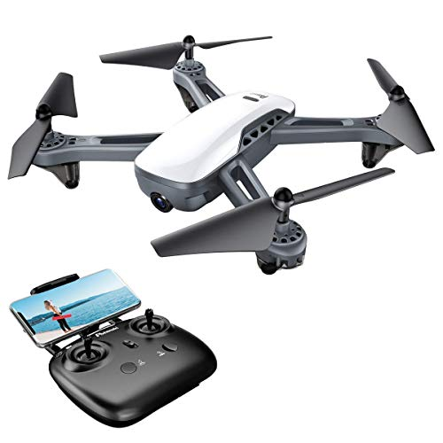 Drone-GPS-Potensic-FPV-avec-Moteur-traditionnel-Version-amliore-1080P-Camra-Grand-Angle-Rglable-fonction-de-RTH-et-laltitude-de-suspension-fonction-de-Positionnement-GPS-Mode-Suivez-moi-D50