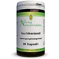 Nachtkerzenöl Kapseln 500-90 Kapseln mit je 500mg Nachtkerzenöl - mit Gamma Linolensäure - Evening Primrose Oil capsules von Nöring Naturprodukte