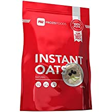 Prozis 100% Natural Oats Powder 1250g - Cereales Repletos de Proteínas, Hidratos de Carbono de Primera Calidad y Fibra Saciante - Sabor Natural - Apto para Vegetarianos y Veganos - 41 Dosis