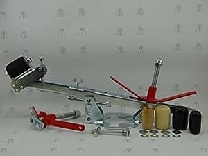 GTE KFZ Kotflügel Bördelgerät DTC-S2 - Das neue Spengler-Werkzeug zum ziehen, falzen und reparieren ihres Kotflügels/Radlaufs am Auto ----- jetzt nur kurze Zeit inkl. GRATIS Ersatzteileset ----- das einzige Gerät am Markt mit der patentierten Sicherheitseinrichtung gegen das gefährliche Kippen der Rolle ----- nur solange der Vorrat reicht