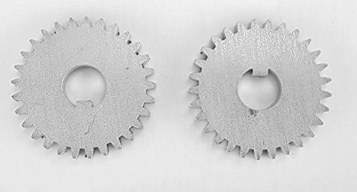 2 Stück Tabakschneider Zahnräder für TC-120 Tobacco Cutter