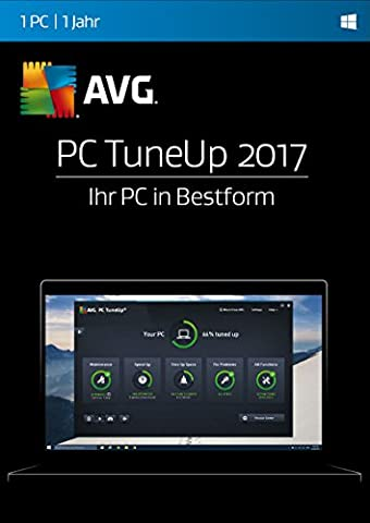 AVG PC TuneUp 2017 1 PC / 12 Monate [Online