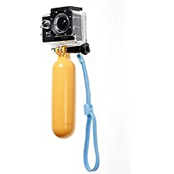 JZK® Monopiede impermeabile galleggiante universale per GoPro / SJCAM / Xiaomi Yi camera floating bastone selfie supporto (galleggiante monopiede)