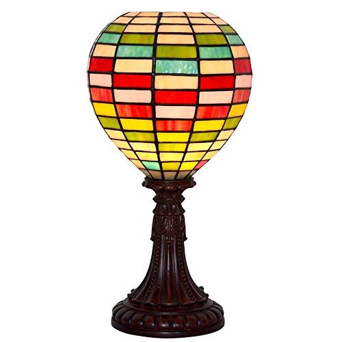 Gweat Tiffany Glasmalerei Ballon Ballon Laterne Lampe Arbeitszimmer Nachttischlampe Geburtstagsgeschenk