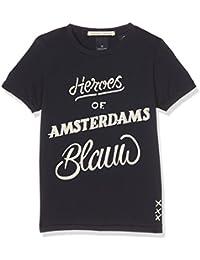 Scotch Shrunk Jungen T-Shirts Ams Blauw Heroes Tee