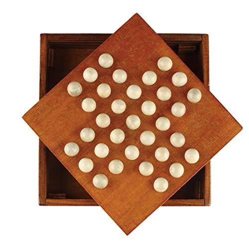 Andux Zone Solitaire Board Holz Einzelspieler Spiel DLZSQ-01