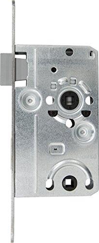 ABUS 20839 Tür-Einsteckschloss TKB10 R S, für DIN-rechts Türen, silber