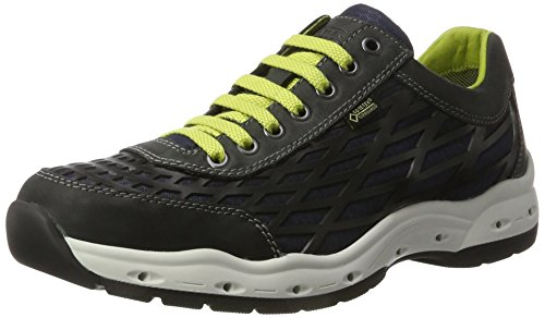 camel active Herren Breathe Gtx 13 Sneakers Schwarz (black/midnight 01)