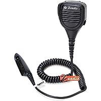Zeadio® Regenfeste Wasserdicht Funkgerät Lautsprecher mit 3,5mm-Kopfhörerbuchse Mikrofon Lautsprechermikrofon für MultiPin Motorola Funkgerät GP140 GP320 GP328 GP329 GP338 GP339 GP340 GP360 GP380 GP640 GP650 GP680 GP1280 usw.