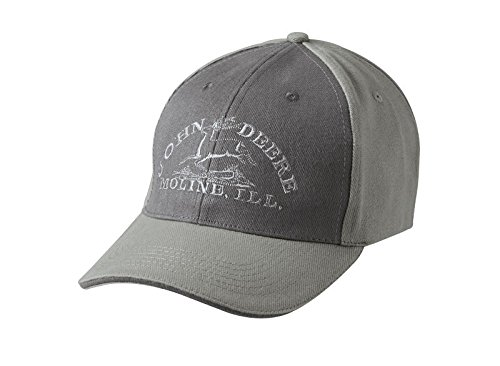 John Deere Farmer Baseball Hat Cap Grey - John Deere Trucker Hats