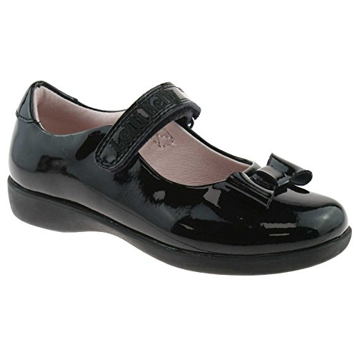 Lelli Kelly LK8226 (DB01) Perrie Black Patent Dolly School Shoes E Fitting -33 (UK 1) Patent Dolly