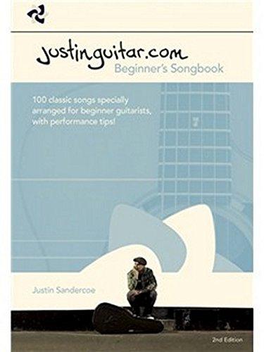 Justinguitar.com Beginner's Songbook: 2nd Edition (Spiral Bound) por Music Sales