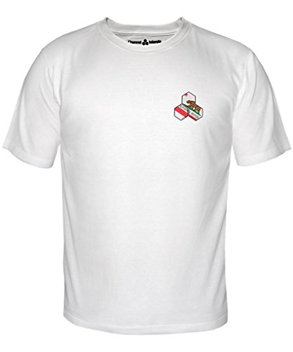 Channel Islands Surfbretter, Cali Hex T-Shirt, weiß, Größe S (Surfboard Shirt S/s)