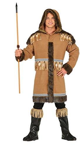 Guirca Kostüm Erwachsene Eskimo, Größe - Eskimo Kostüm Für Erwachsene