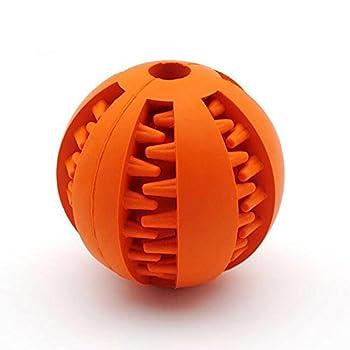Myyxt Chien Pet Toys Rubber Clean-toothed Ball Molar Sécurité et protection de l'environnement , m