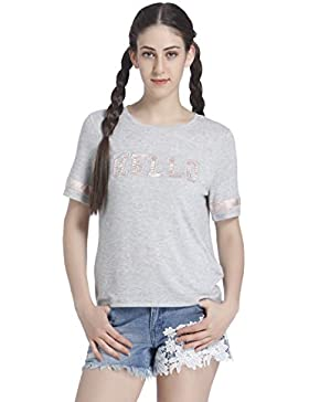 Only Onlmia S/S Hello Top ESS, Camiseta para Mujer