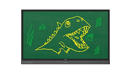 BenQ 9H.F3KTC.DE1 RP654K 165,1 cm (65 Zoll) großformatiges Touch-Display Fernseher (4K, UHD, 3840 x 2160, LED Panel, Android 5.1 OS System, 20-Punkt-Multitouch-Interaktivität)