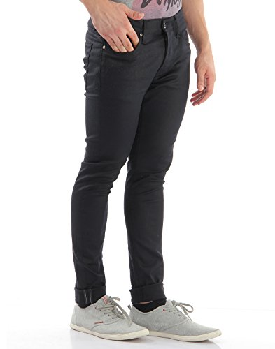 Selected Shnonefabios Unwashed Black St-jean Noos - Jeans - Skinny - Homme Noir