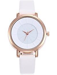 LJXAN Reloj de Cuarzo para Mujer Reloj de Moda Creativo Reloj de Color Caramelo ZYXCC (