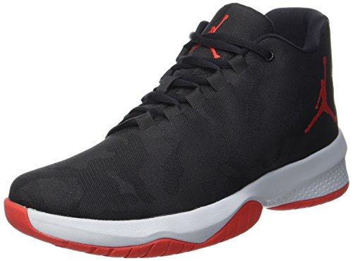 Nike Jordan B. Fly, Chaussures de Basketball Homme Noir (Black/univ Red/wolf Grey)
