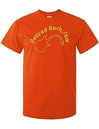 Retired Rock Star Fun Adults Band T-Shirt Gift