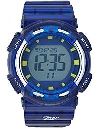 Zoop Digital Bluish Grey Dial Children's Watch -NKC3026PP02