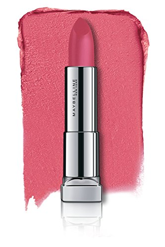 Maybelline New York Color Sensational Powder Matte Lipstick, Technically Pink, 3.9g