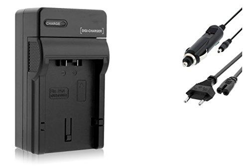 Ladegerät für Panasonic CGA-S006 / Lumix DMC-FZ7 FZ8 FZ18 FZ28 FZ30 FZ38 FZ50. / Leica V-LUX 1
