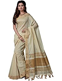 Rani Saahiba Art Cotton Silk Chanderi Saree (SKR3890_Beige)