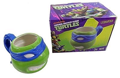 Offiziell Lizenziert Teenage Mutant Ninja Turtles Porzellan 3d Becher Verpackt GrÜn Blau Offiziell Lizenziert von Mugs Unique bei Du und dein Garten
