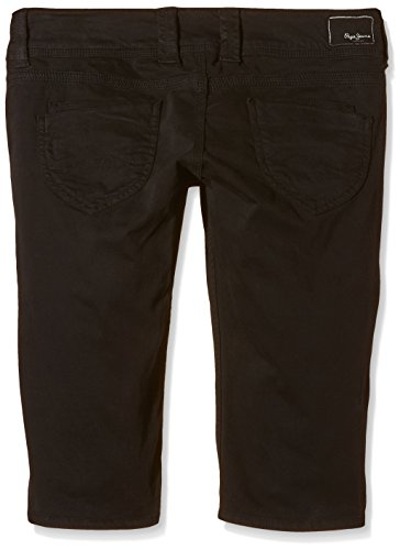 Pepe Jeans London Damen Shorts Venus Crop Schwarz (Black)
