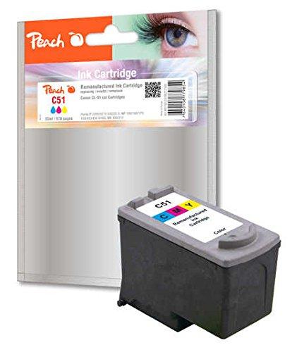 Preisvergleich Produktbild Peach Druckkopf color kompatibel zu Canon CL-51