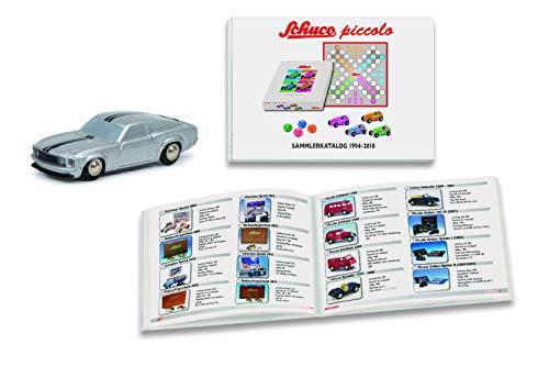Schuco 450607400 Piccolo - Juego de Accesorios para coleccionar (colección 2018/Mustang 450607400-Piccolo, Modelo de Coche)