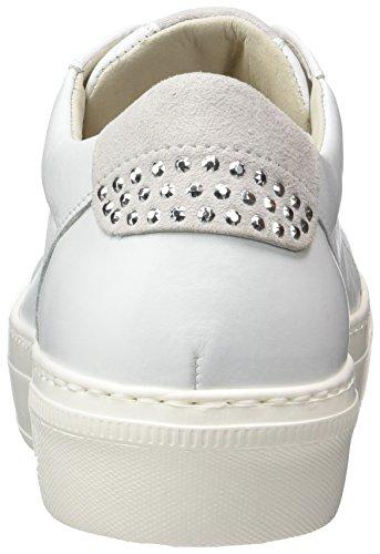 Gabor Shoes Fashion, Scarpe da Ginnastica Basse Donna Bianco (Weiss/Ice 21)