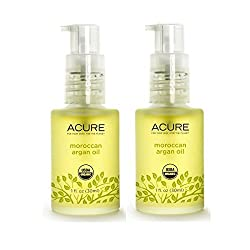Acure Argan Oil Rich in Vitamin E Essential Fatty Acids and Proteins, 1 fl. oz. (Pack of 2)