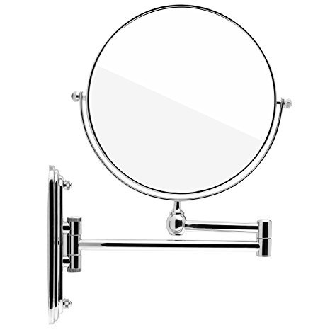 spaire-bathroom-mirror-7x-magnification-normal-double-sided-8-inch-wall-mounted-vanity-mirror-swivel