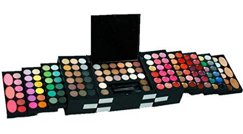 FantasyDay® 156 Couleurs Fard à Paupières Palette de Maquillage Cosmétique Set avec Correcteur et Fard à Joues et Rouge à Lèvres - Convient Parfaitement pour une Utilisation Professionnelle ou à la Maisons