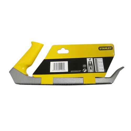 Stanley Surform Standardhobel, 315mm Länge, 255mm Klingenlänge, fester Kunststoff-Handgriff, mit Ersatzblatt, 5-21-296