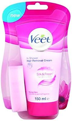 Veet Skin In-Shower Hair Removal Cream Lotus Milk & Jasmine Fragrance 150ml