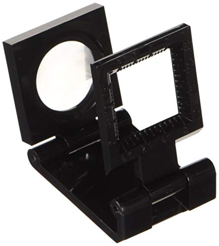 Metrica Fadenzähler, schwarz 20X20Mm, Kunststoff, 49550