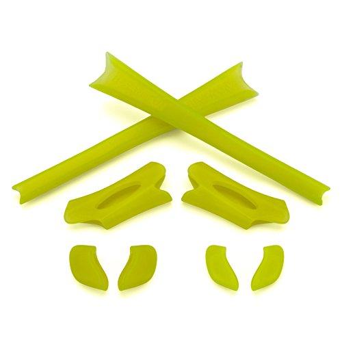 Revant MaxGrip® Gummiset für Oakley Flak Jacket - Glow in the Dark (Green)