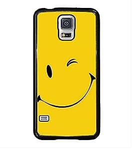 FUSON Smiley Face Vector Design Designer Back Case Cover for Samsung Galaxy S5 Neo :: Samsung Galaxy S5 Neo G903F :: Samsung Galaxy S5 Neo G903W