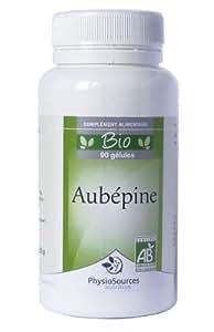BIOVITAE - AUBEPINE BIO en 90 gélules végétales dosées à 200 mg