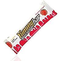 Yummy Bar Smooth Protein 35 g Fragola/Iogurt - Cremoso Fragola