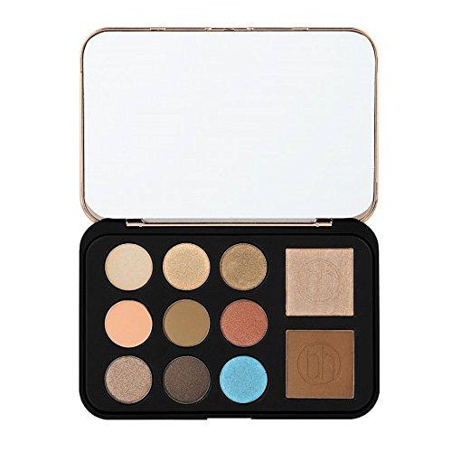 Bronze Paradise - Lidschatten-, Bronzer- und Highlighter-Palette (Bronze Make-up-palette)