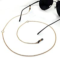 Imixlot Simple Elegant Glasses Sunglasses Spectacles Anti-Skidding Neck Chain Decorated