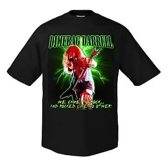 Dimebag Darrell He Came to Rock ed1083 T-shirt M
