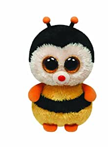 Ty Beanie Boos 7136966 Buddy Sting Bee Large, 24 cm, Yellow